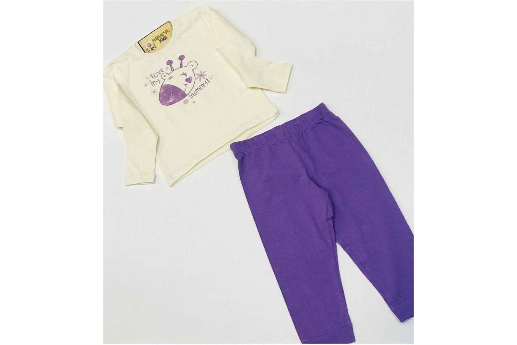 Mor Pijama Takımı