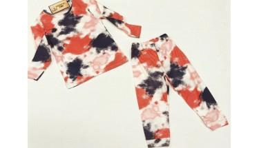 Batikli Pijama Takımı
